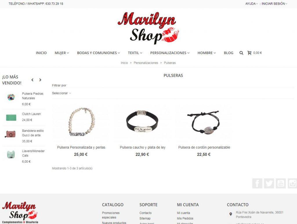 pulseras personalizadas baratas